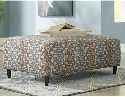 FLINTSHIRE AUBURN OVERSIZE RECTANGLE OTTOMAN