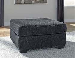 ALTARI SLATE SQUARE OVERSIZED OTTOMAN BY ASHLEY