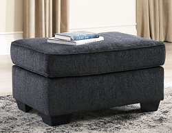 ALTARI SLATE RECTANGLE OTTOMAN