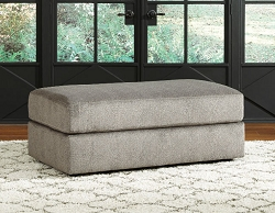SOLETREN ASH OVERSIZED RECTANGLE OTTOMAN