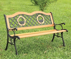 HAVASU DUCK INLAY OUTDOOR PARK BENCH