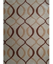 TRANSITIONAL HAND TUFTED BROWN BIEGE AREA RUG