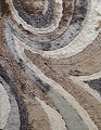 VISCOSE SHAGGY DESIGN 26 EARTH AREA RUG