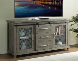 INDUSTRIAL CHARMS GREY 64 INCHES TV CONSOLE