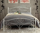 PALLINA WHITE METAL BED COLLECTION