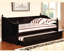 WALCOTT COMPLETE SOLID WOOD DAYBED WITH TRUNDLE