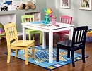 KELSEY 5 PIECE YOUTH TABLE AND CHAIRS PLAY SET