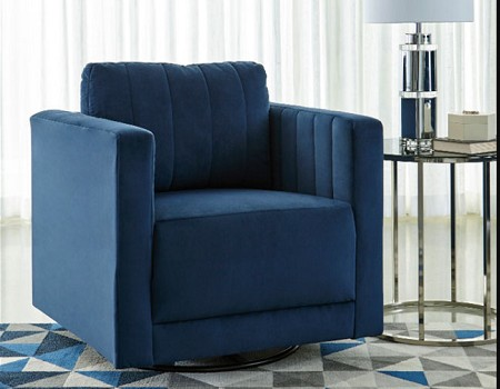 ENDERLIN INK 360 SWIVEL ACCENT CHAIR