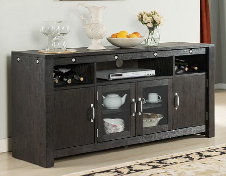 MARSEILLE AND LASALLE INDUSTRIAL CHARMS 64 INCHES TV CONSOLE SERVER