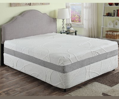 HERBACOAL GREEN TEA AND CHARCOAL INFUSE 12 INCHES MEMORY FOAM MATTRESS