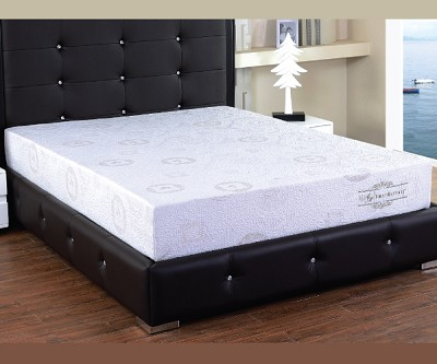 HERBAL FUSION GREEN TEA INFUSED 8 INCHES  MEMORY FOAM MATTRESS