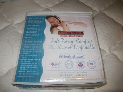 MASTER GUARD WATER PROOF TERRY CLOTH MATTRESS PROTECTOR