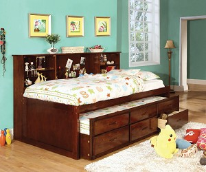 HARDIN TWIN CAPTAIN DAYBED WITH TRUNDLE AND STORAGE