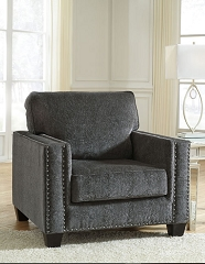 GAVRIL SMOKE ACCENT ARM CHAIR