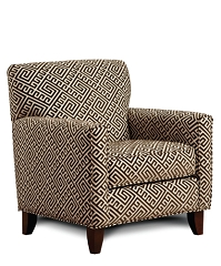GILLESPIE PATTERN ACCENT ARM CHAIR
