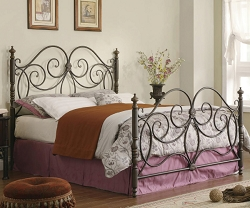 LONDON TRADITIONAL METAL BED