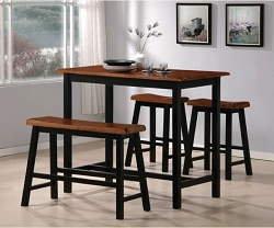 TYLER 4 PIECE COUNTER HEIGHT SET