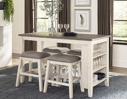 TIMBRE COUNTER HEIGHT STORAGE DINING SET