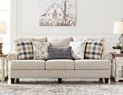MEGGETT LINEN QUEEN MEMORY FOAM SOFA SLEEPER BY ASHLEY