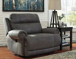 AUSTERE GRAY ZERO WALL RECLINER CHAIR