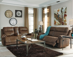 AUSTERE BROWN ZERO WALL RECLINER SEATING COLLECTION