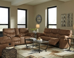 BOXBERG BARK RECLINING SOFA LOVE SEAT COLLECTION