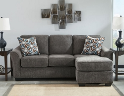BRISE SLATE SOFA CHAISE WITH PULL OUT SLEEPER BY ASHLEY