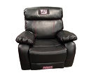NFL NEW YORK GIANT CHAMP BONDED LEATHER ROCKER RECLINER CHAIR