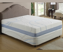 CHARCOGEL GEL AND CHARCOAL INFUSED 12 INCHES MEMORY FOAM MATTRESS