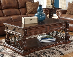 ALYMERE LIFT TOP WITH SIDE DRAWER COFFEE TABLE BY ASHLEY