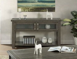INDUSTRIAL CHARMS CONSOLE SOFA TABLE
