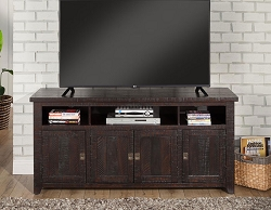FOUNDRY ESPRESSO 65 INCHES WOOD TV STAND CONSOLE