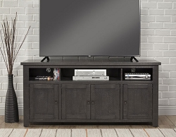 FOUNDRY CHAROAL GREY 65 INCHES WOOD TV STAND CONSOLE
