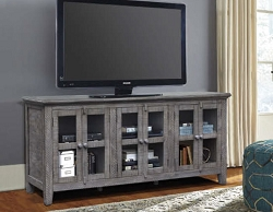 MILOS ANTIQUE GREY 70 INCHES TV STAND SERVER