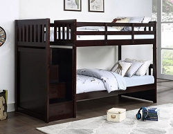 NOWY ESPRESSO REVERSIBLE STORAGE STEP STAIR TWIN BUNK BED